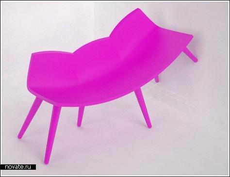 Веселые стулья-сороконожки от Kristian Lindhardt Norhave