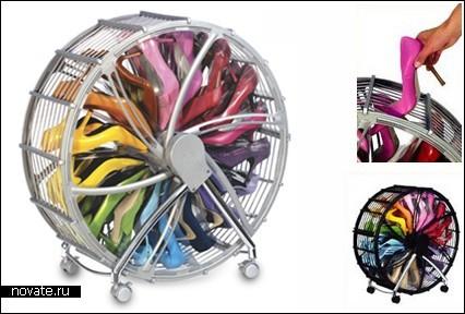 Полка-колесо для обуви