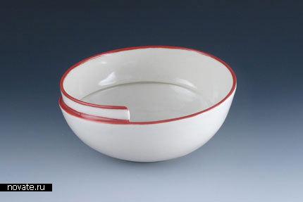 Тарелки в виде раковины улитки