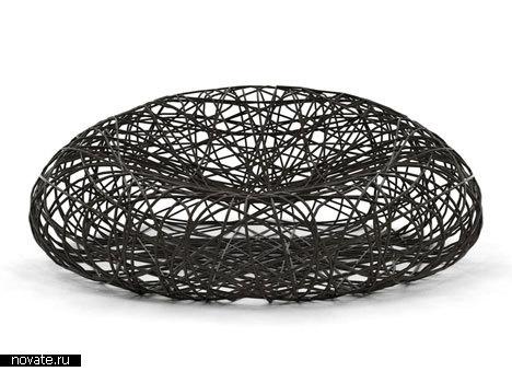 Кресло в виде птичьего гнезда