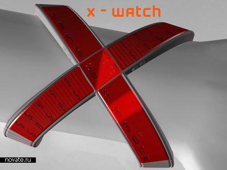 Часы «X-Watch» от Damian Kozlik