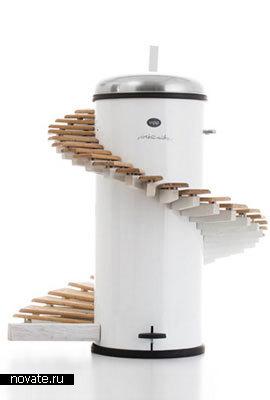Музыкальное мусорное ведро-ксилофон