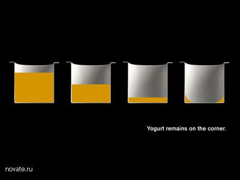 Ложка для йогурта