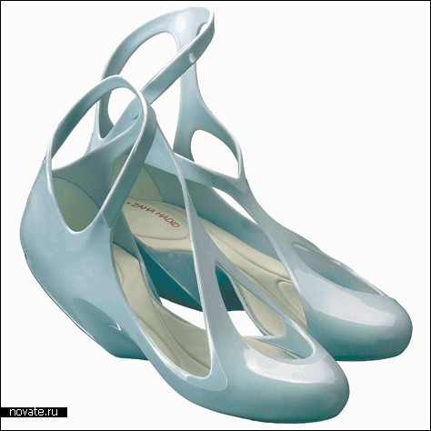 Туфли от Захи Хадид – теперь не просто концепт