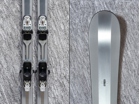 лыжи от Simon Jacomet