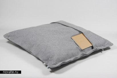 Кровать-подушка «ZipZip» от Pling Collection