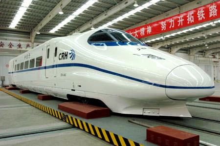 Китайский поезд China Railway High-speed (CRH2-300).