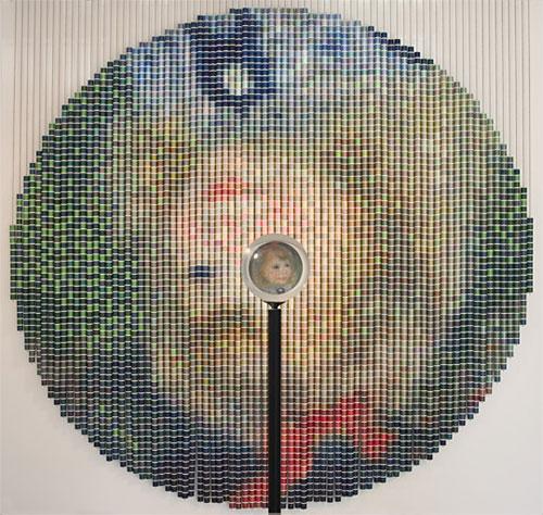 После Ренуара, 2006, (Девора Спербер), 5024 катушки ниток