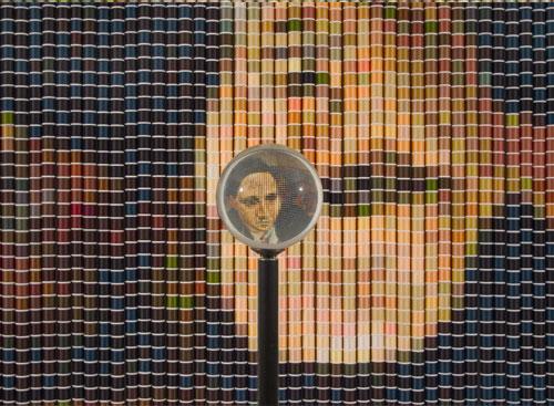 После Пикассо, 2006, (Девора Спербер), 5024 катушки ниток