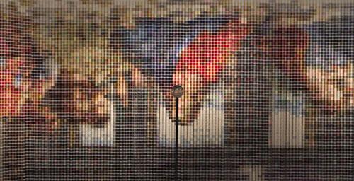 После Тайной вечери, 2005, (Девора Спербер), 20 736 катушек ниток