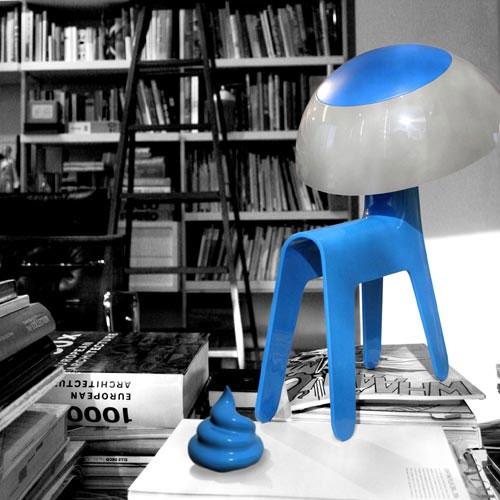 Удивительная настольная Лампа-Собака