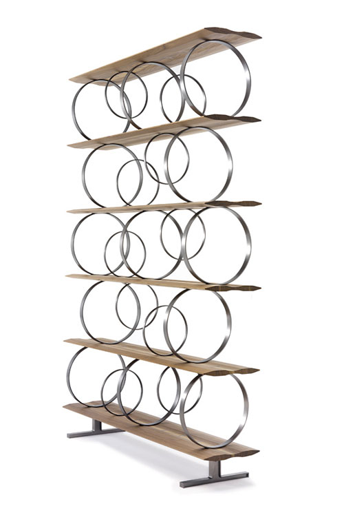 Стеллаж Flying Circles от Ceccotti Collezioni