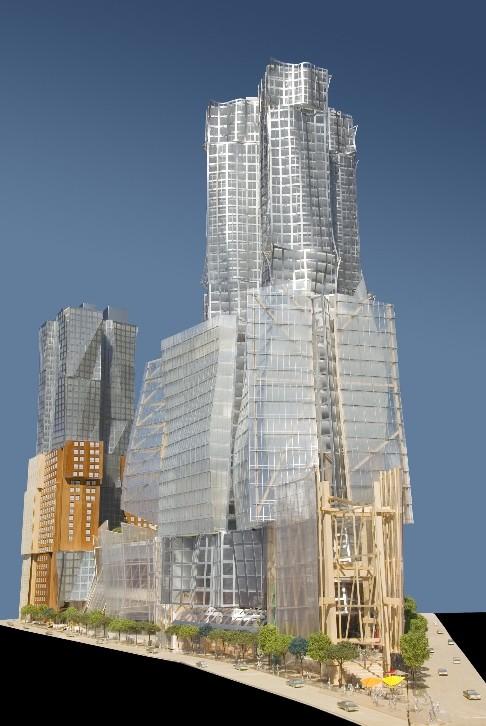 Фрэнк Гери (Frank Gehry) - проект Атлантик Ярдс в Бруклине