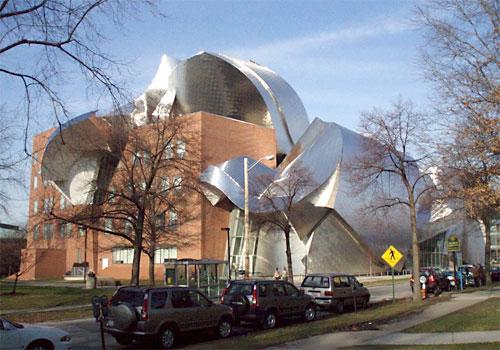 Фрэнк Гери (Frank Gehry) - Университет в Кливленде, США