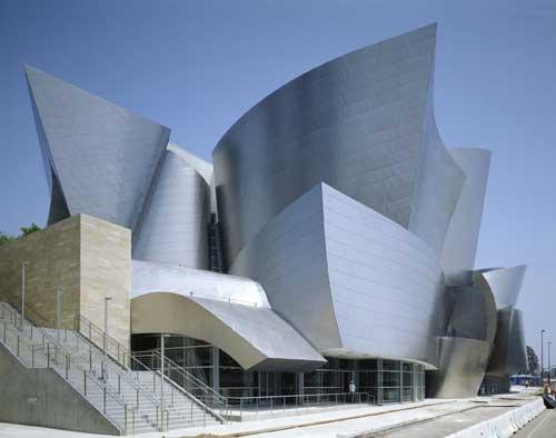 Фрэнк Гери (Frank Gehry) - Концертный зал Уолта Диснея