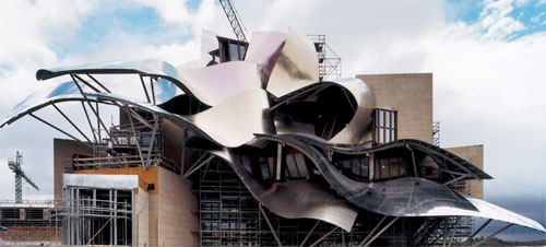 Фрэнк Гери (Frank Gehry) - отель Riscal