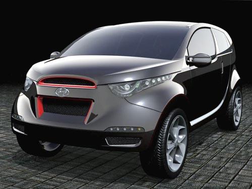 Концепт Hyundai Neos не входит в наш обзор, он просто красивый :)