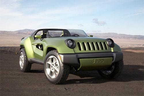 Концепт Jeep Renegade