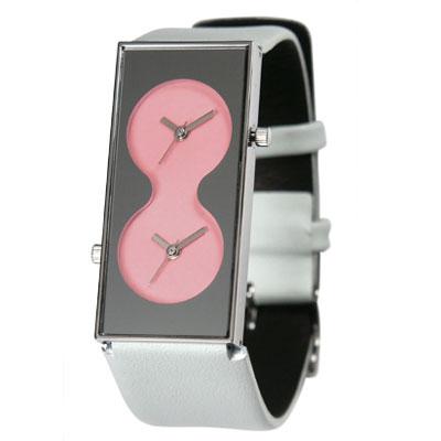 «Bi-Watch» Аналоговые часы с двумя циферблатами от Карима Рашида.