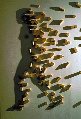 Kumi Yamashita, Building Blocks. Boise Art Museum.