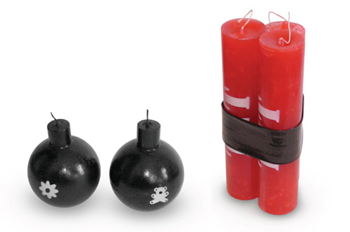 Дизайн свечей от Emmanuel Laffon