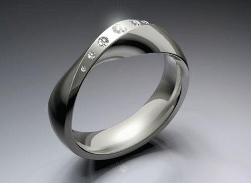Кольцо с брилиантами от Emmanuel Laffon