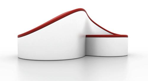 Софа-восьмерка от Emmanuel Laffon