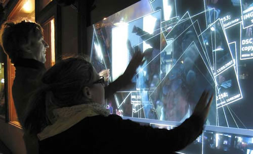 Multi-Touch Wall