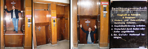 Безостановочный лифт Paternoster, Англия