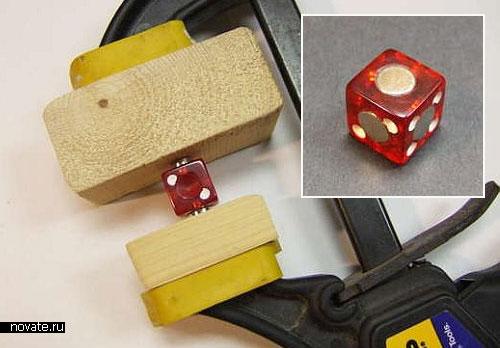 Магнитный кубик Рубика из игральных костей