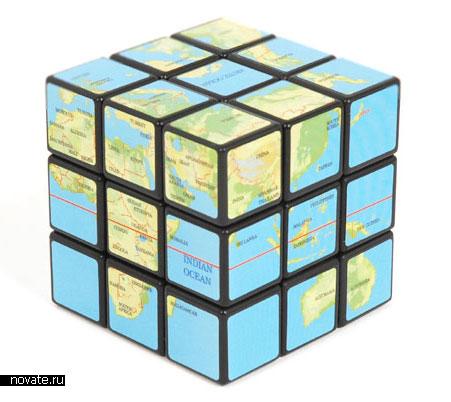 Географический кубик Рубика