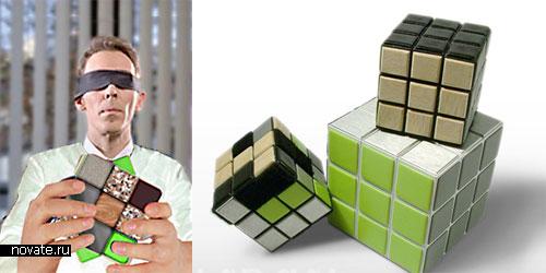 Кубик Рубика из различных материалов
