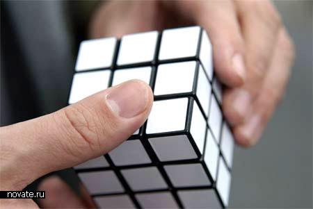 Одноцветный кубик Рубика
