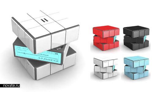 плеер в виде кубика Рубика