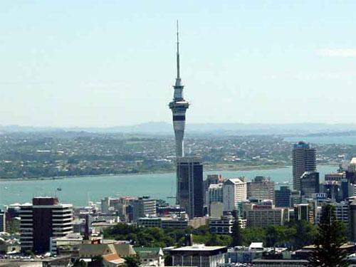 Лифт небоскреба Sky Tower, Новая Зеландия