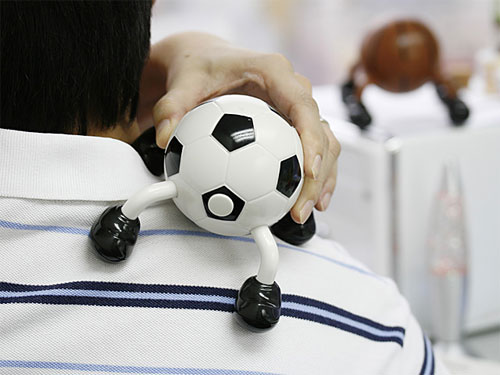 Футбольный USB массажер