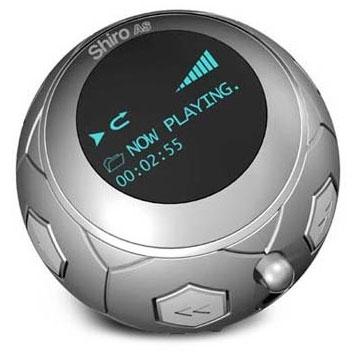 MP3 плеер Shiro AS Soccer Ball в виде футбольного мяча