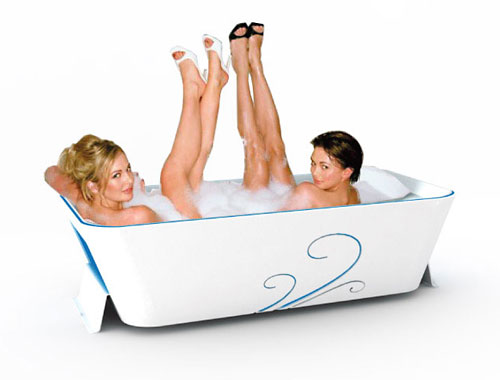 Дизайн ванны PoZ из кориана, Gregoire Vandenbussche