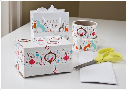 Праздничная упаковка от TapeSwell
