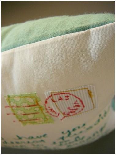 Подушка-открытка