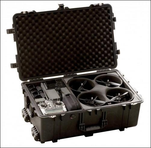Летающий робот с видеокамерой