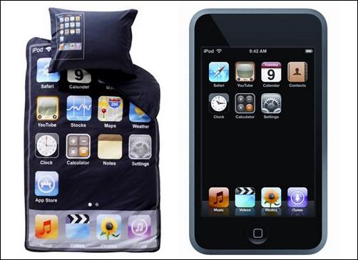 Постельное белье в стиле iPod