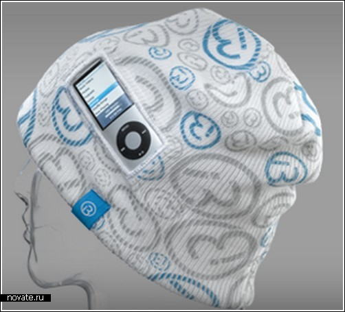 Шапка-чехол для iPod