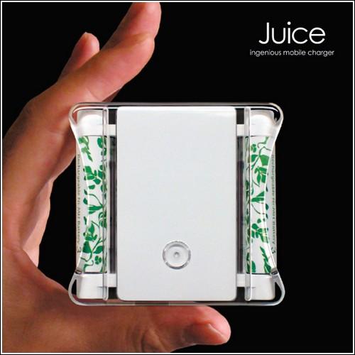 Концепт зарядного устройства «Juice»
