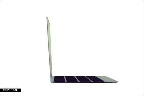 Открытка в стиле Mac Book