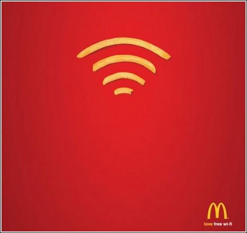 Креативная реклама  McDonald's