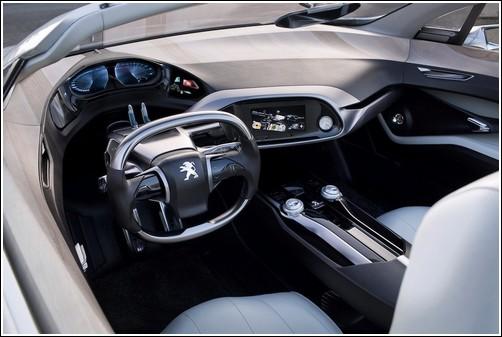 Концепткар Peugeot SR1
