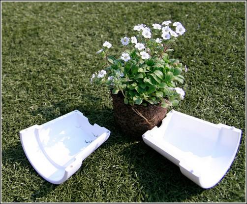 Концепт цветочного горшка RE_Flowerpot
