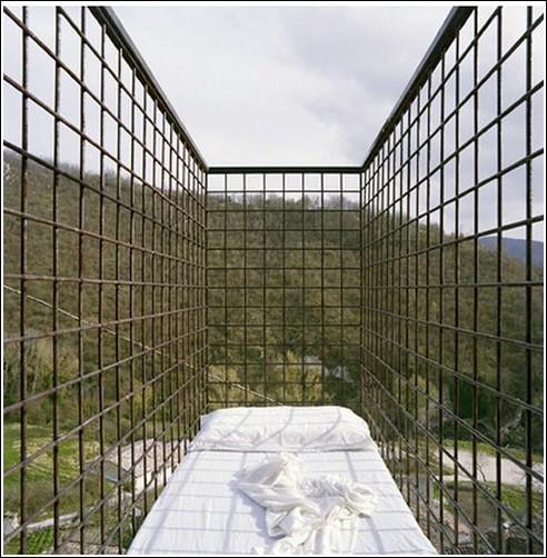 Необычная кровать - отель