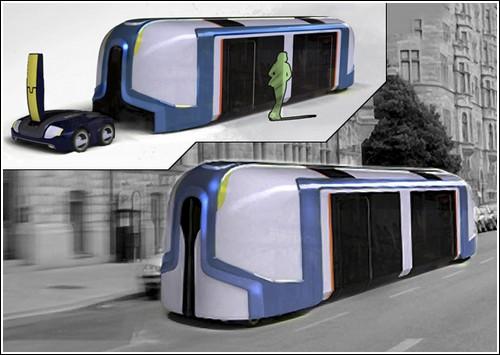 Универсальный роботизированный автотранспорт будущего
